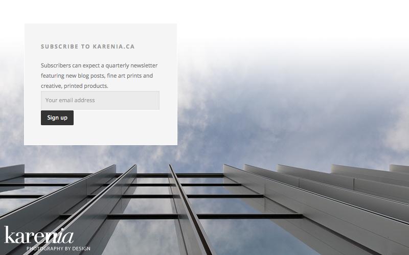 Karenia-Subscribe