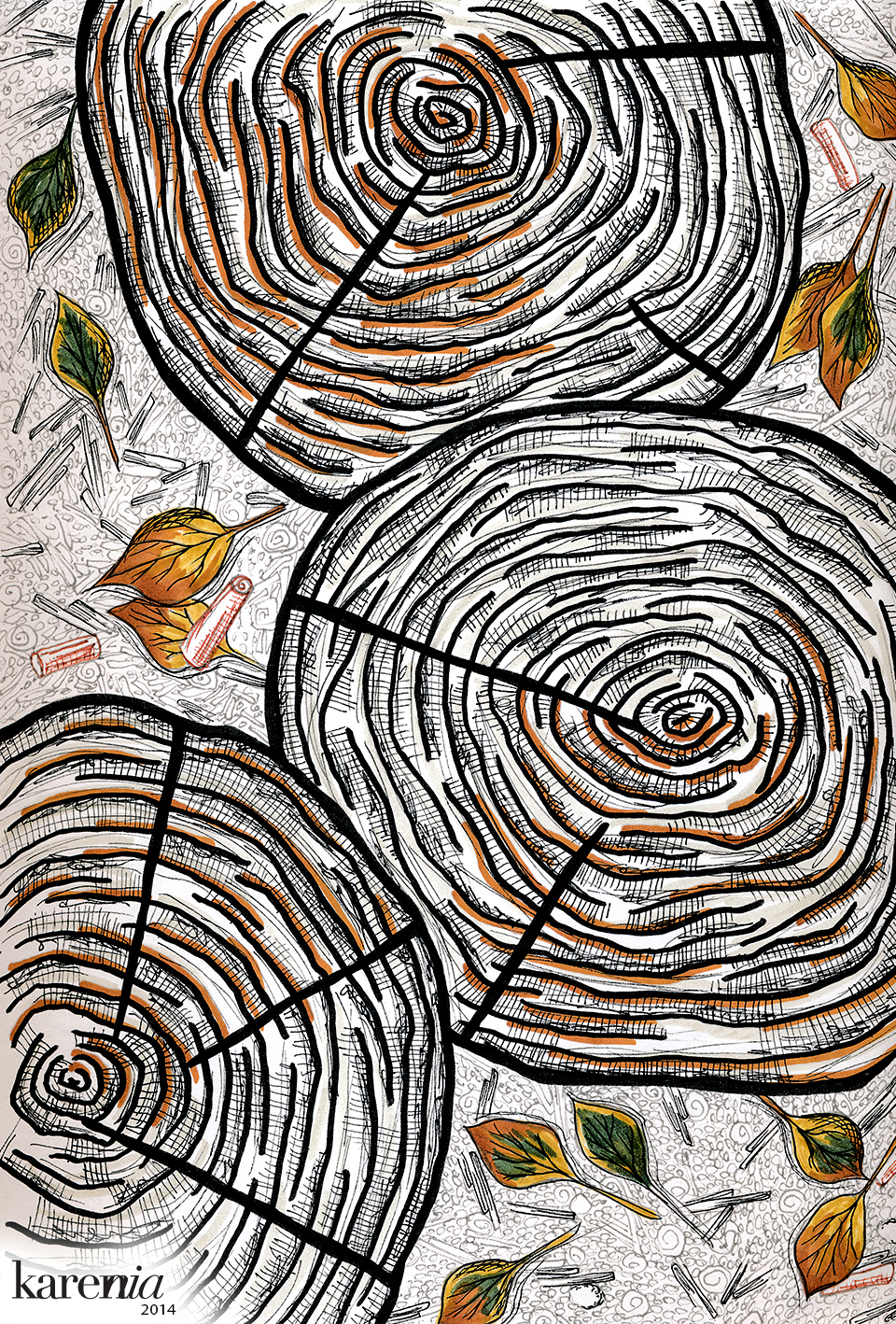 KareniaIllos-TreeStump2